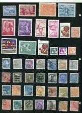 STAMP LOT OF BRAZIL, MNH, MH AND USED (2 SCANS)