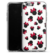 Apple iPhone 6 Silikon Hülle Case - Minnie Icon Pattern