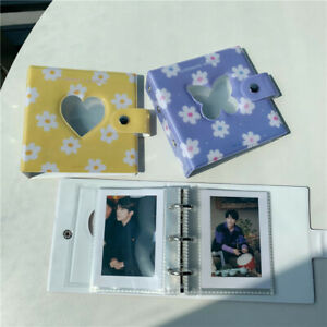 Mini Photocard Binder Holder Binder Hollow Photocard Card Pockets Albums Holder