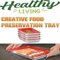 Pre-Sale!  Plateau de cuisine plateau de conservation des aliments sains 4pcs