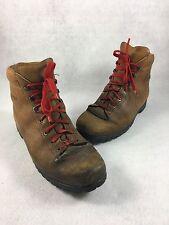 Kastinger Mountaineering Leather Boots Vibram Soles AUSTRIA Men's 10 HIKING