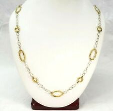 CHARLES HORNER 14K YELLOW GOLD NECKLACE