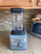 KitchenAid Commercial Blender with 60oz Jar Silver