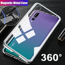 360° Magnetic Metal Case Glass Cover For Huawei P40 Lite Mate 30 20 Pro P30 P20