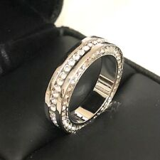 3 Ct Diamond Paved Band Ring Women Jewelry Wedding Engagement Gift Size 6