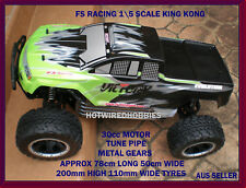 FS RACING 1/5 SCALE PETROL REMOTE CONTROL CAR KING KONG 112005 112004 112016