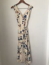 fame and partners Floral Wrap Dress