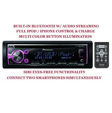 PIONEER  DEH-X6750BT BLUETOOTH MP3 CD USB IPOD IPHONE CAR RECEIVER STEREO PLAYER