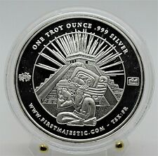 Mexico First Majestic - Mayan Art 1 oz Silver Coin