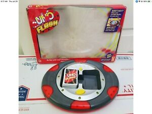 Uno Electronic Flash .Complete - Mattel - 2007 -Works