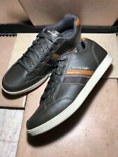 a1895ba264 American Eagle mens Gray Leather memory Foam lace up shoes sneakers Sz 14 US