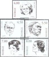 Norwegen 1371-1375 (kompl.Ausg.) postfrisch 2001 Schauspieler