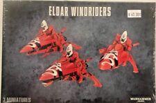 Warhammer 40K ELDAR WINDRIDERS Saim Hann Wildriders Aeldari Jetbike Squad, New