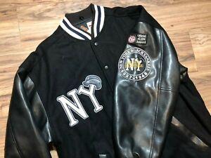 Mens Vintage & Extremely Rare New York Black Yankees Varsity Jacket XL NLBM MLB