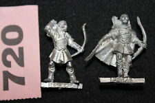 Games Workshop Lord of the Rings Legolas on Foot x2 Fellowship Metal LoTR Mint