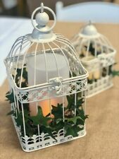 Ivory Square Classic Bird Cage - Large