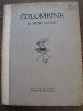 Colombine - Hugh McCrae & Norman Lindsay - Aust Vintage 1920 Limited Edition