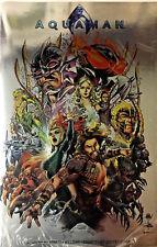 Aquaman #40 Exclusive Nycc 2018 Silver Foil Variant Sealed Jason Momoa Movie Nm-