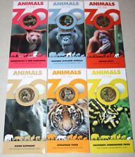 (PL) NEW SALES: 2012 Australia Animals Zoo Series $1 COLOUR PRINTED COIN RAM