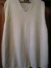 Barbour Jersey sin manga algodón y cashmere Tamaño Ex Grande