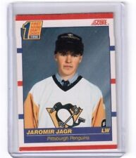 1990-91 NHL Score First Round Draft Choice Jaromir Jagr Pittsburgh Penguins