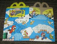 1989 Nintendo Super Mario Bros. 3 McDonald's Happy Meal Box Sky Land