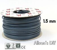 1.5 mm Brown Grey Single Core Cable 6181Y Double Insulated Light Wire