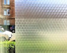 Self Adhesive Frosted Decorative Window Glass Vinyl Privacy Film 1.5m x 67.5cm