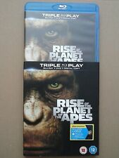 Rise of the Planet of the Apes -Blu-ray[Triple Play Blu-ray + DVD + Digital Copy
