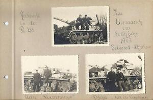 7x  Foto Panther Panzer G. Deutschland  1943 Belgorod Charkow Top Bilder