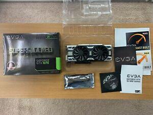 EVGA GeForce GTX 1070 SC 8GB GDDR5 Graphics Card (08G-P4-6173-KR) Complete
