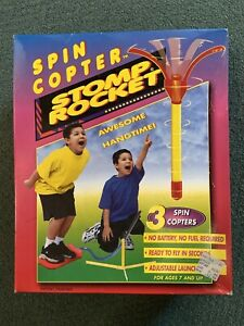 Stomp Rocket - 3 Spin Copters - Brand New!