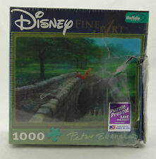 DISNEY FINE ART PUZZLE~FISHING WITH FRIENDS (Pooh) ~ Peter Ellenshaw 1000+ ~ NEW