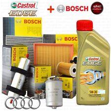 INSPEKTIONSKIT ™L CASTROL EDGE 5W30 9LT 4 FILTER BOSCH AUDI A6 3.0 TDI 171 KW
