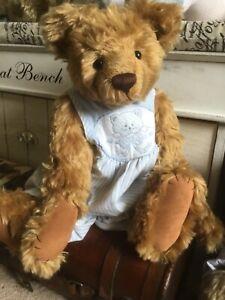 """Ooak artist bear - Sophie - by Janet Clarke - 21"""""""