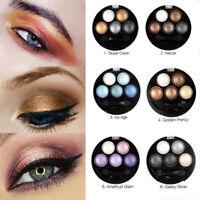 5 Colors UBUB Earth Eye Shadow Makeup Palette Eyeshadow Matte Shimmer Mirror NEW