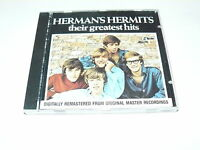 """HERMAN'S HERMITS """"THEIR GREATEST HITS"""" CD ABKCO 1987"""