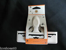 MARTHA STEWART CRAFTS Gothic Bats Border Paper Punch Edge Retired Rare Halloween
