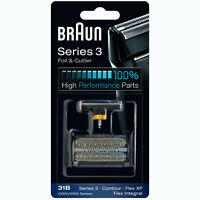 BRAUN 31B 5000/6000 Series 3 Flex XP Integral Shaver Foil + Cutter Replacement