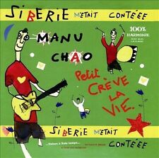 MANU CHAO - SIBERIE M'ETAIT CONTEE NEW VINYL RECORD