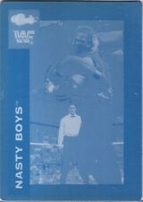 WWE Nasty Boys Brian Knobbs 1990 Classic Printing Plate Card WWF