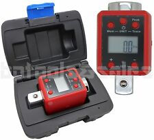34 Dr Digital Torque Wrench Adaptor Micro Meter Ftlb Led 738 Flb Microtorque