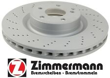 Front Vented Disc Brake Rotor Zimmerman Mercedes E550 10-11 Sedan 000421151207