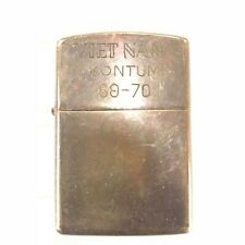 Vietnam War Zippo Lighter Kontum 69 70 Vintage