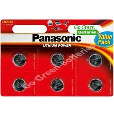 Piles jetables Panasonic au lithium pour équipement audio et vidéo CR2032