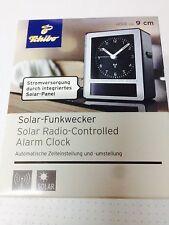TCM Tchibo Solar Funkwecker Wecker automatische Zeiteinstellung Uhr Top Preis 🥇