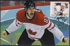 CANADA # 2942.03 - SID CROSBY HOCKEY STAMP on MAXIMUM CARD