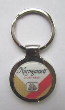 Narragansett Beer Key Chain, Narragansett Beer Logo Keychain, Narragansett Beer