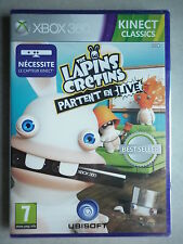 The Lapins Crétins Partent En Live Jeu Vidéo XBOX 360
