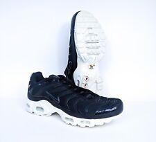 35d53029e4 Nike Air Max Plus BR TN Black Wht Running Mens Sz 11.5 898014-001 FREE